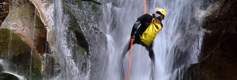 Rapel nas cascatas de Tixhiñú + Aculco