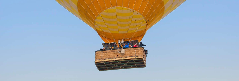 Passeio de balão  por Teotihuacán