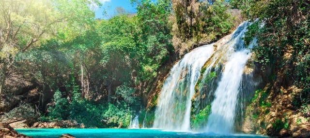 Excursão às Lagunas de Montebello + Cascata El Chiflón