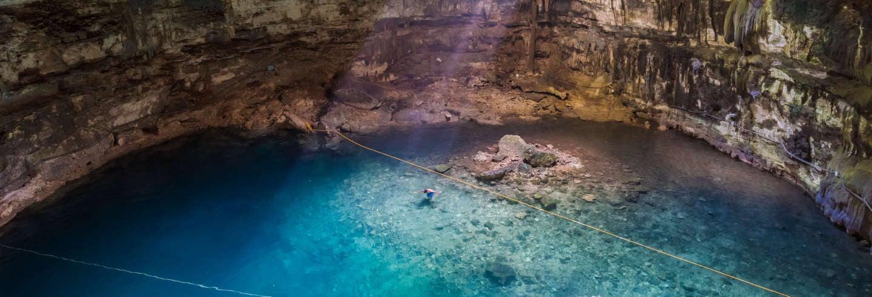Tour por Chichimilá, pueblo maya y cenotes