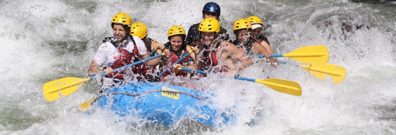 Rafting en el río Pescados