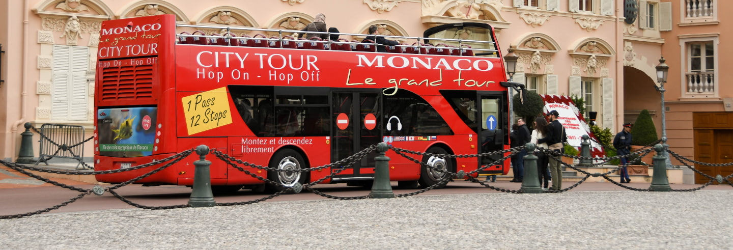 Monaco Hop On Hop Off Bus