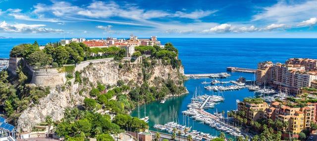 Visite de Monaco, Eze et la Turbie
