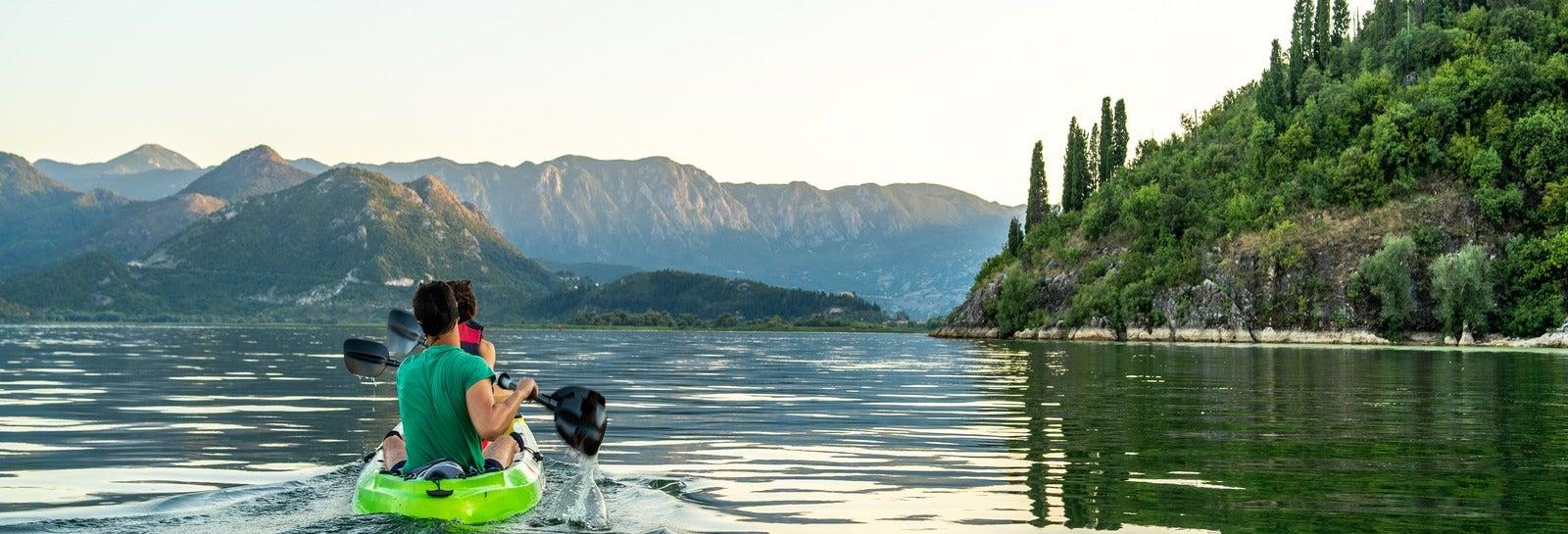 Tour del lago Skadar in kayak