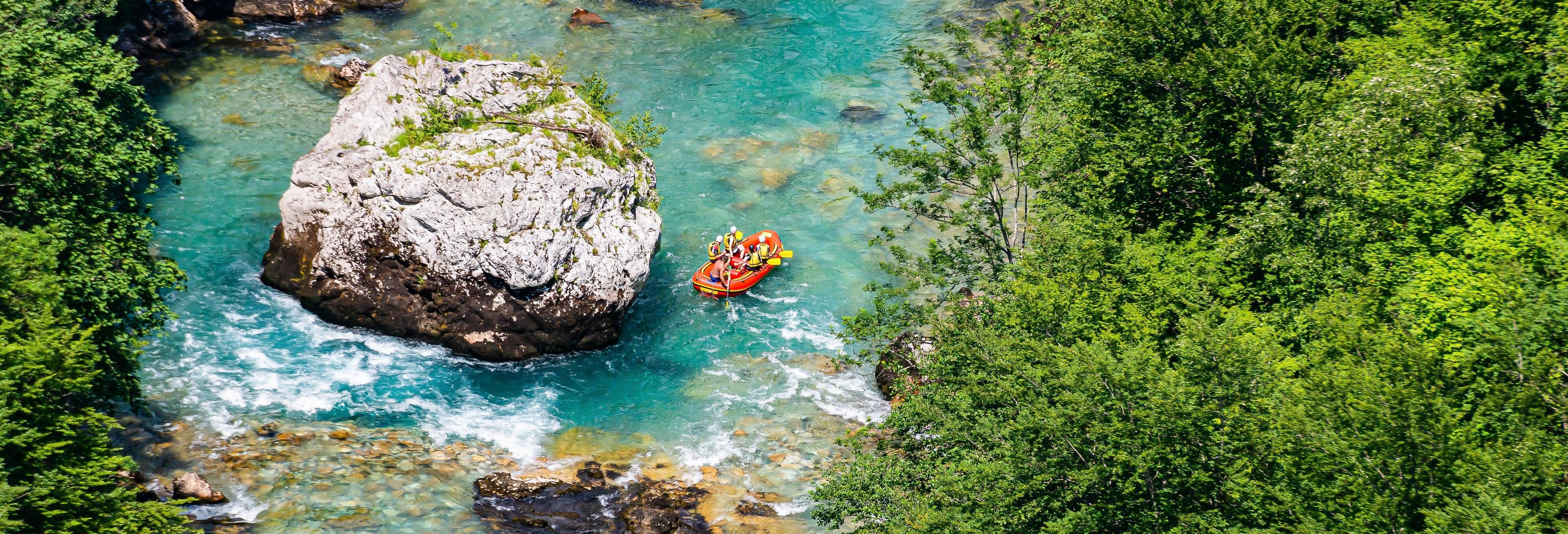 Tara River Rafting & Zip Line