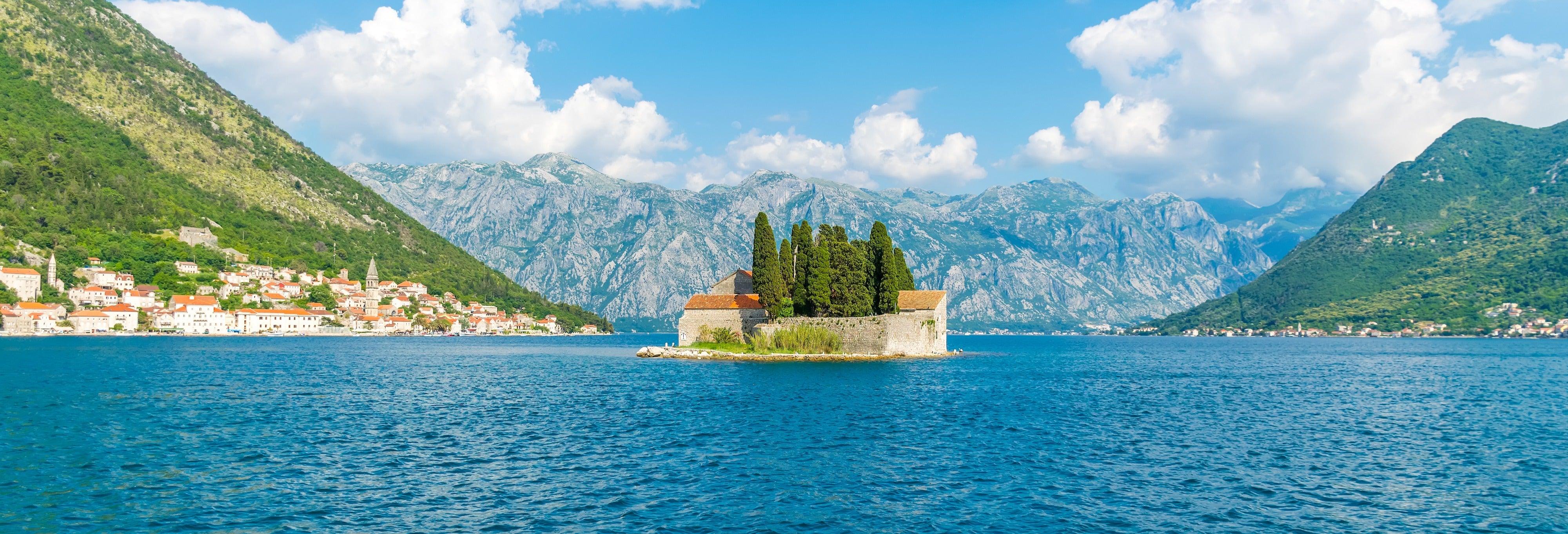 Giro in barca privata nella baia di Kotor