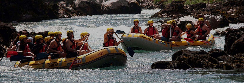 Rafting sul fiume Tara