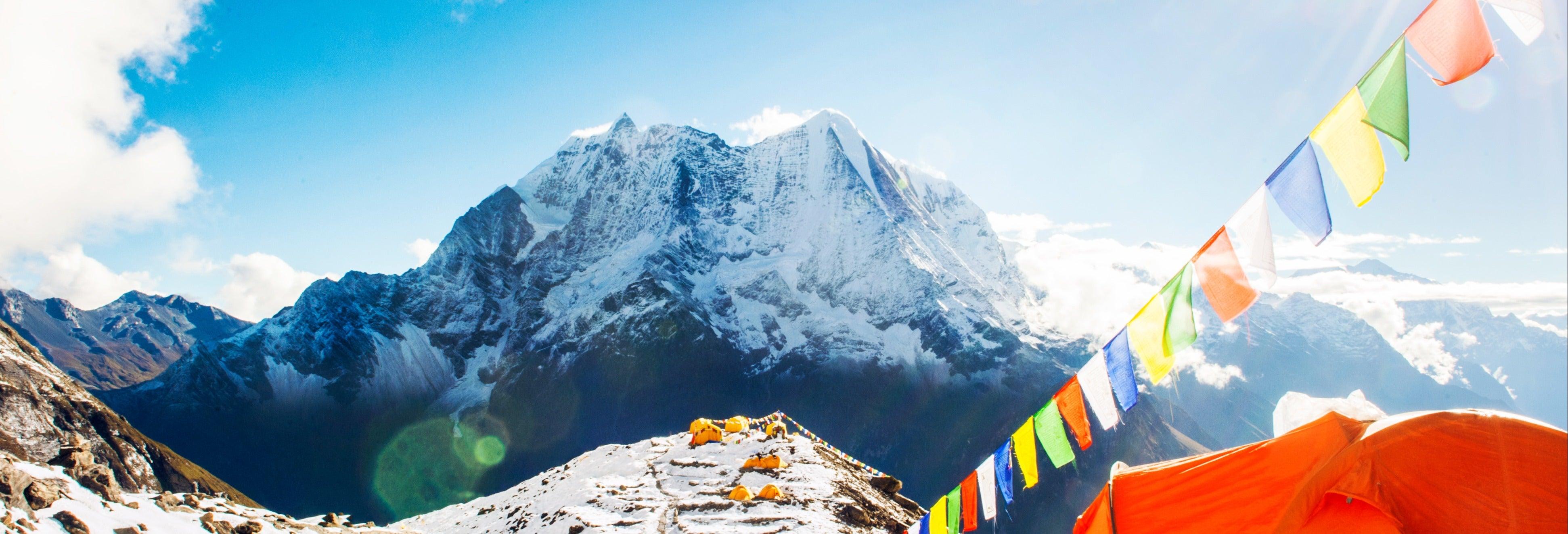 Excursión en helicóptero al campamento base del Everest
