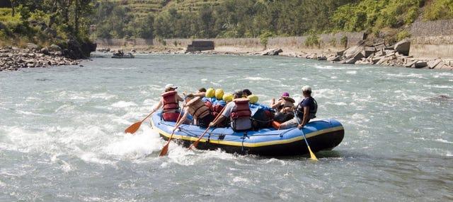 Rafting sur la rivière Trishuli