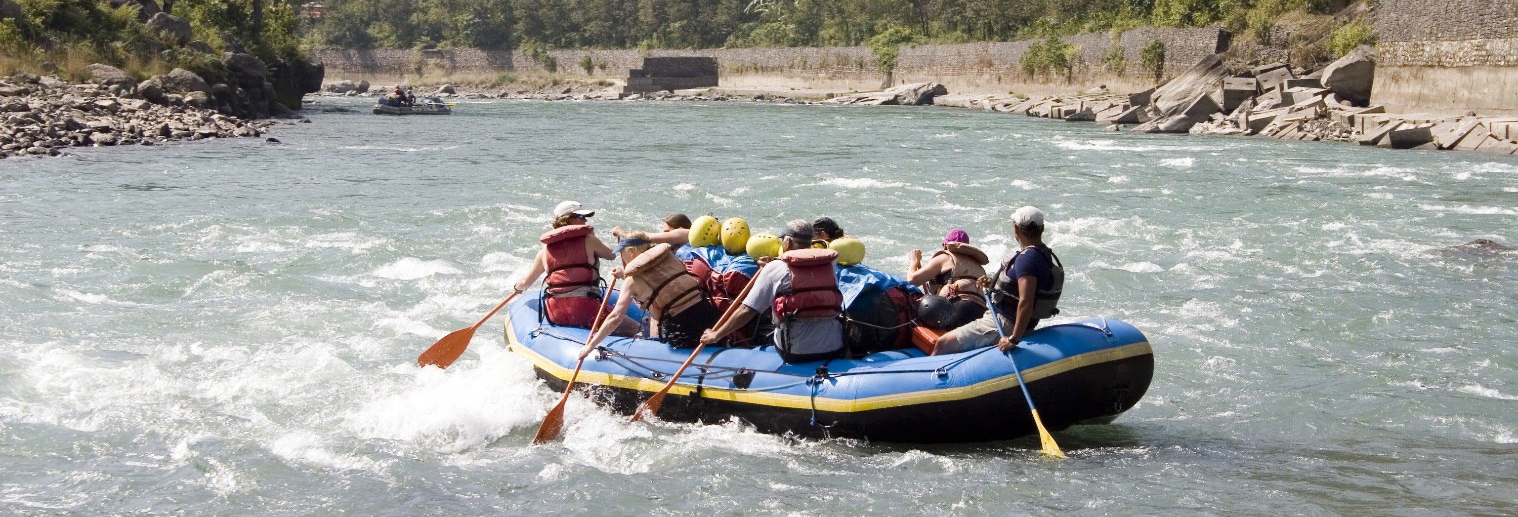 Rafting no rio Trishuli