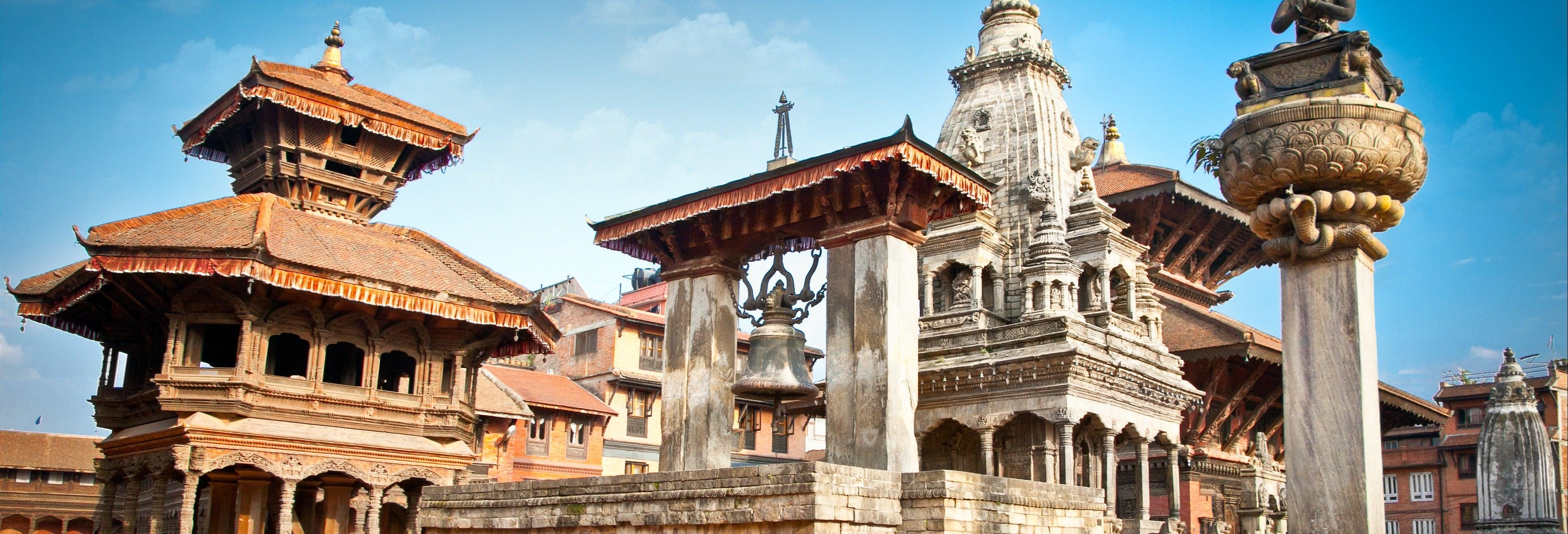 Tour nocturno en rickshaw por Katmandú