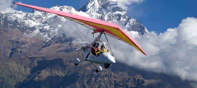 Vol en ultra-léger à Pokhara