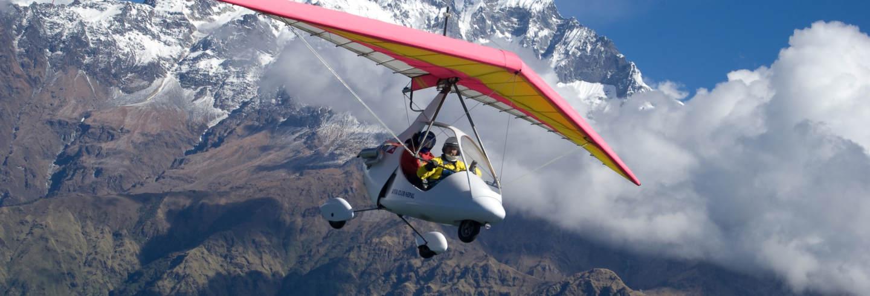 Volo in ultraleggero a Pokhara