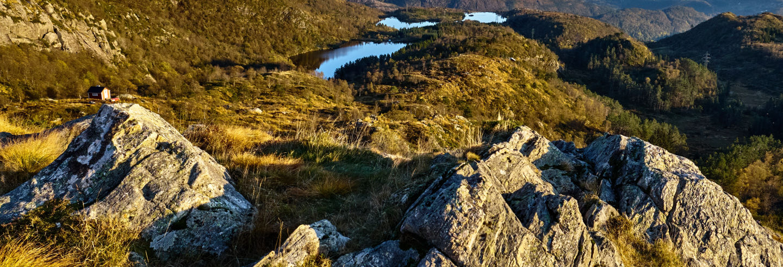 Senderismo por los montes Ulriken y Fløyen