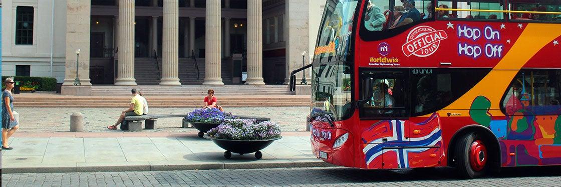Bus touristique d'Oslo