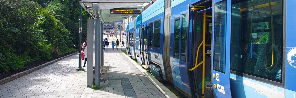 Tramway à Oslo