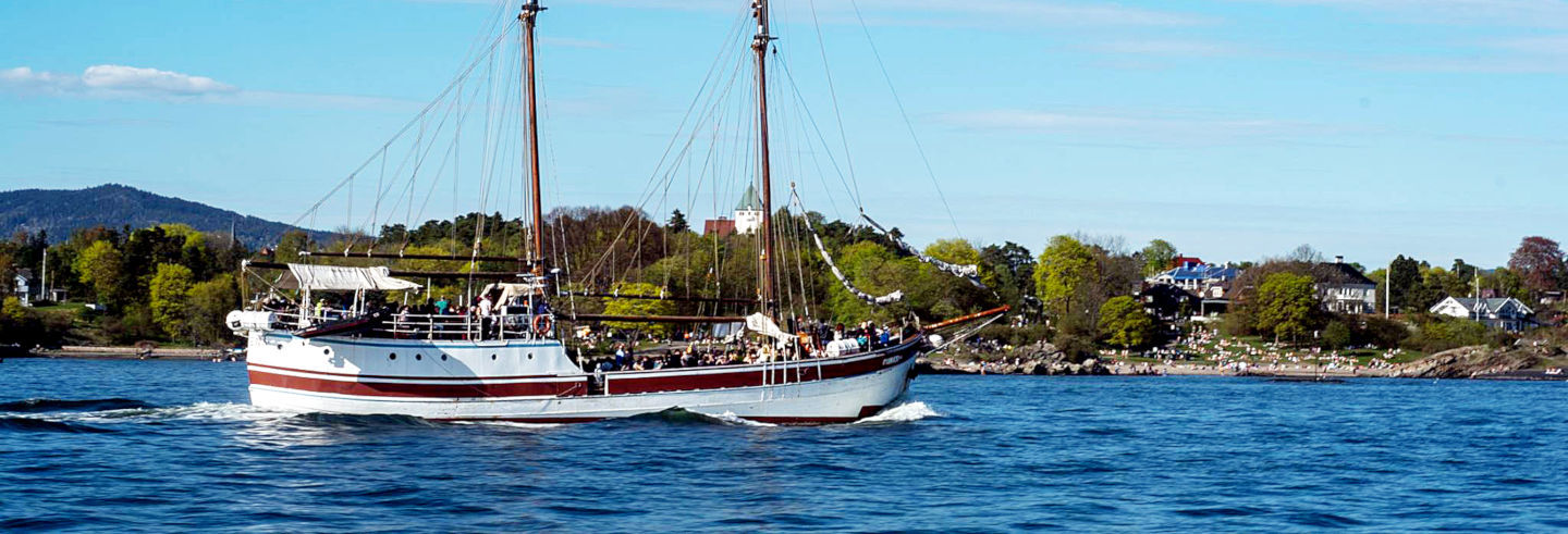 Passeio de barco pelo fiorde de Oslo