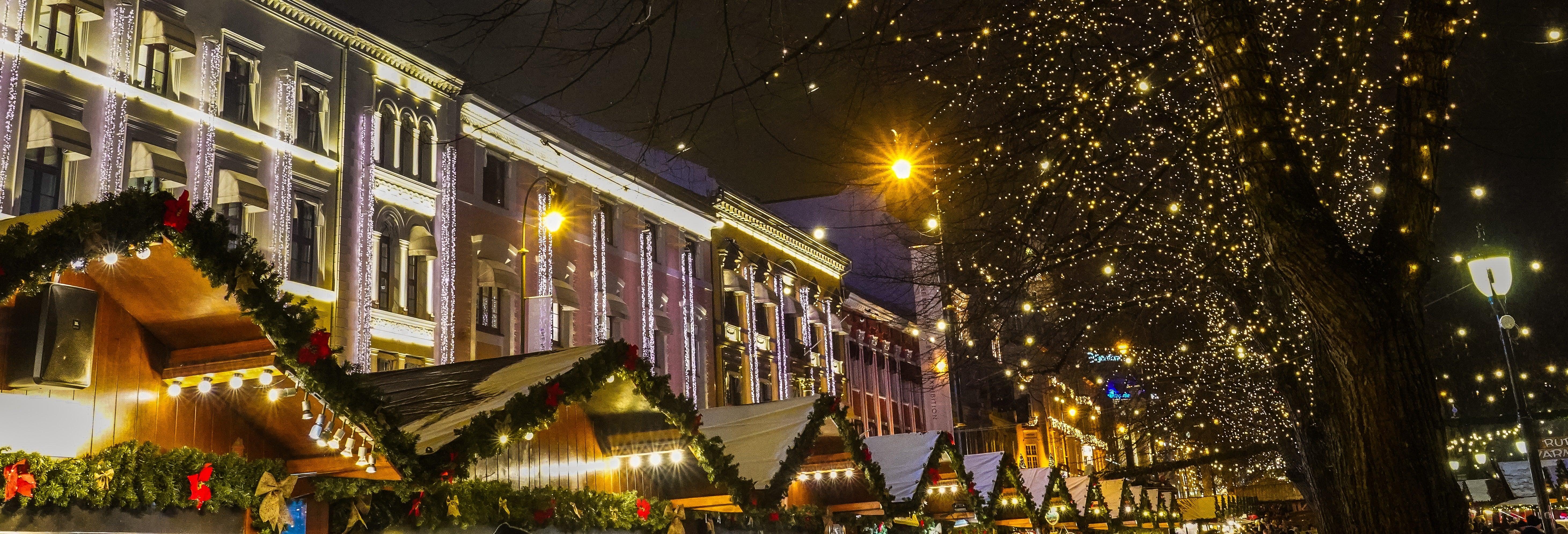 Tour natalizio di Oslo