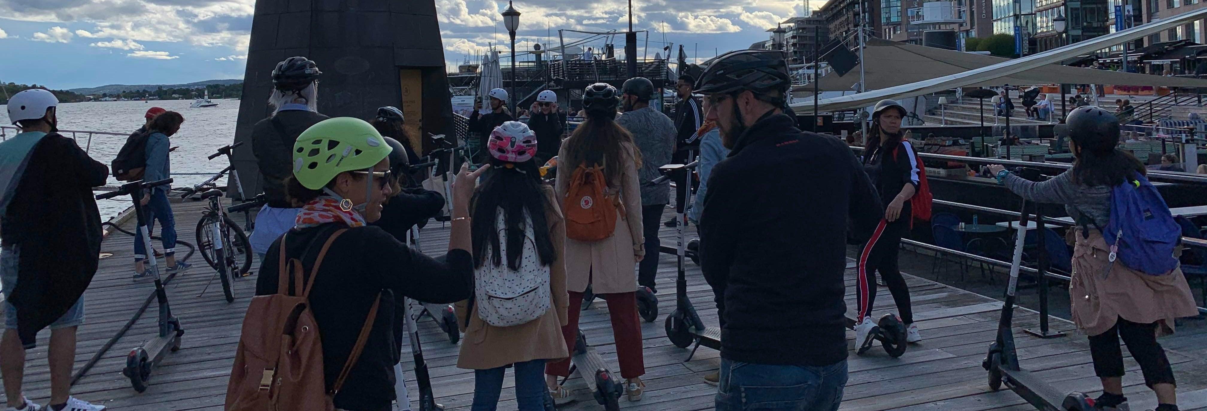 Tour de patinete elétrico por Oslo