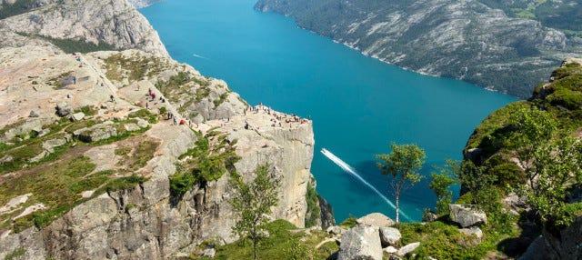 Randonnée à Preikestolen + Balade en canoë dans les fjords