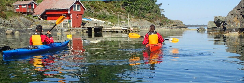 Excursion en kayak dans Kalvoy