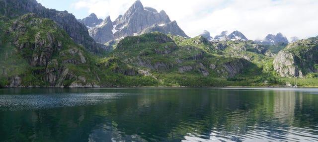 Pesca in catamarano a Trollfjord