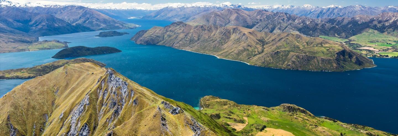 Paseo en barco por las islas del lago Wanaka