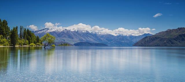 Paseo en barco por el lago Wanaka
