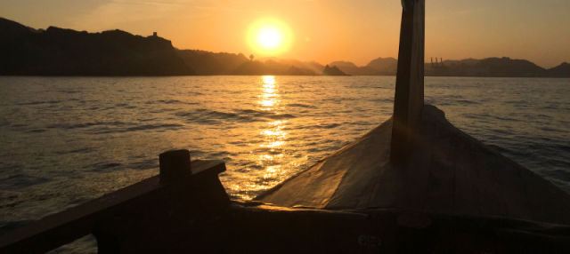 Crociera al tramonto a Mascate