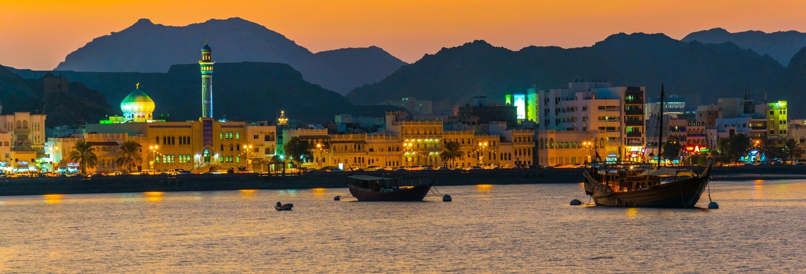 Dîner-croisière au coucher du soleil dans Mascate