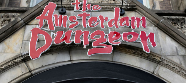 Entrada a The Amsterdam Dungeon