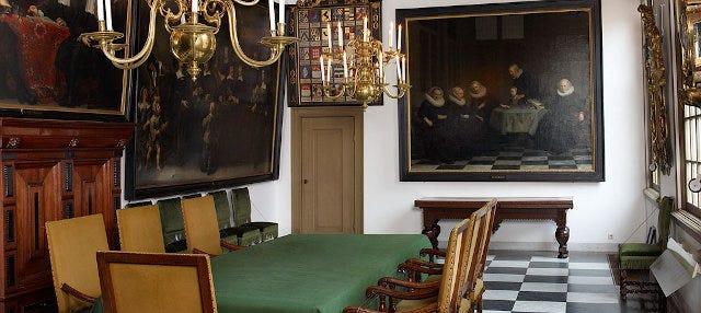 Entrada al Museo Histórico de Ámsterdam
