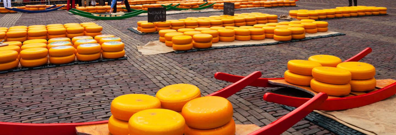 Excursion au marché aux fromages de Gouda