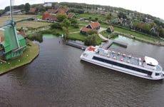 Excursión a los molinos de Zaanse Schans en barco