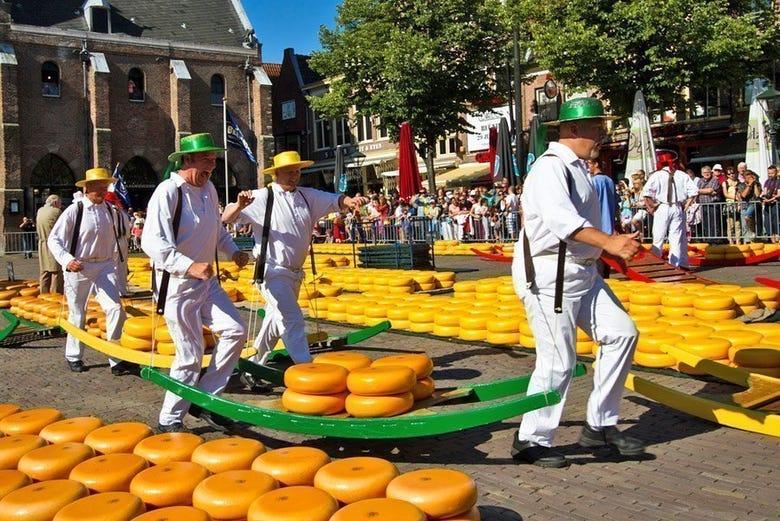 Excursión Al Mercado De Queso De Alkmaar ámsterdam