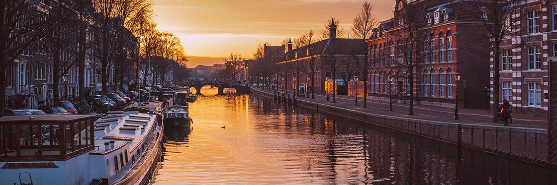 Canales en Ámsterdam
