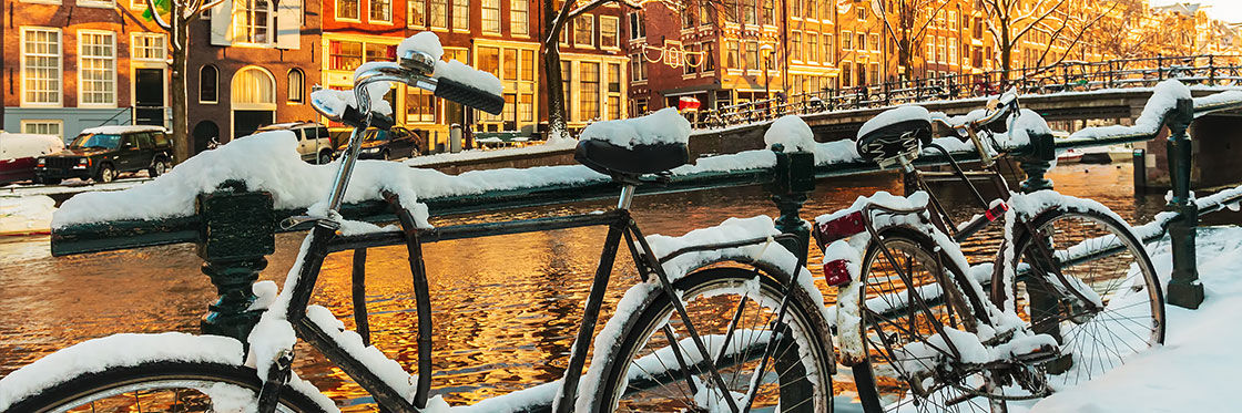 O tempo em Amsterdam