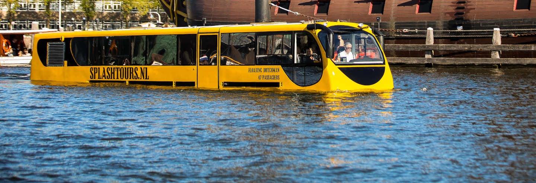 Tour di Amsterdam in autobus anfibio
