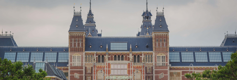 Museu Van Gogh, Rijksmuseum e cruzeiro