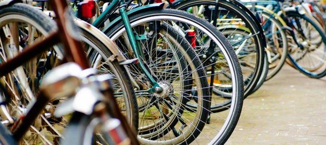 Tour del arte urbano en bicicleta