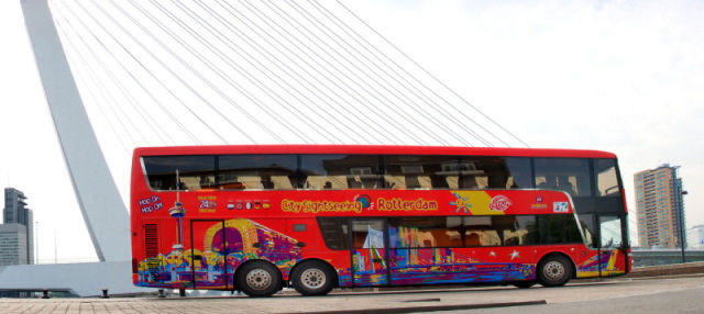 Autobús turístico de Róterdam