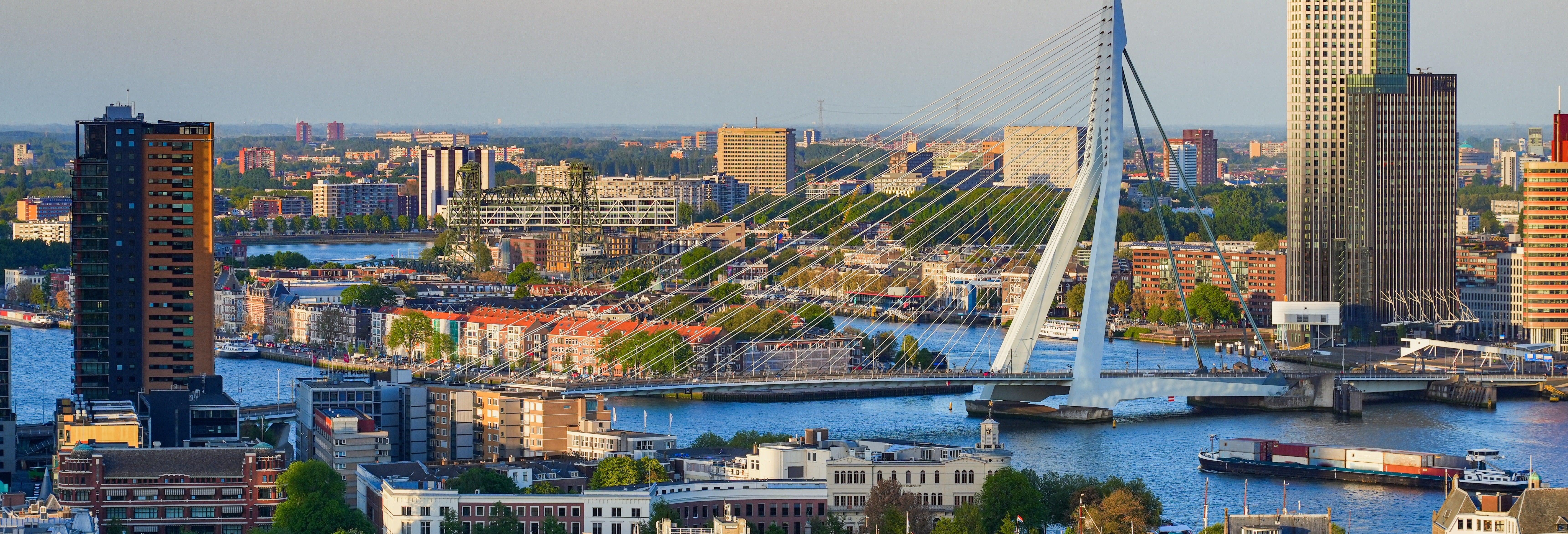 Giro in barca nel porto di Rotterdam