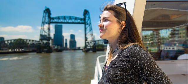 Paseo en barco por Róterdam