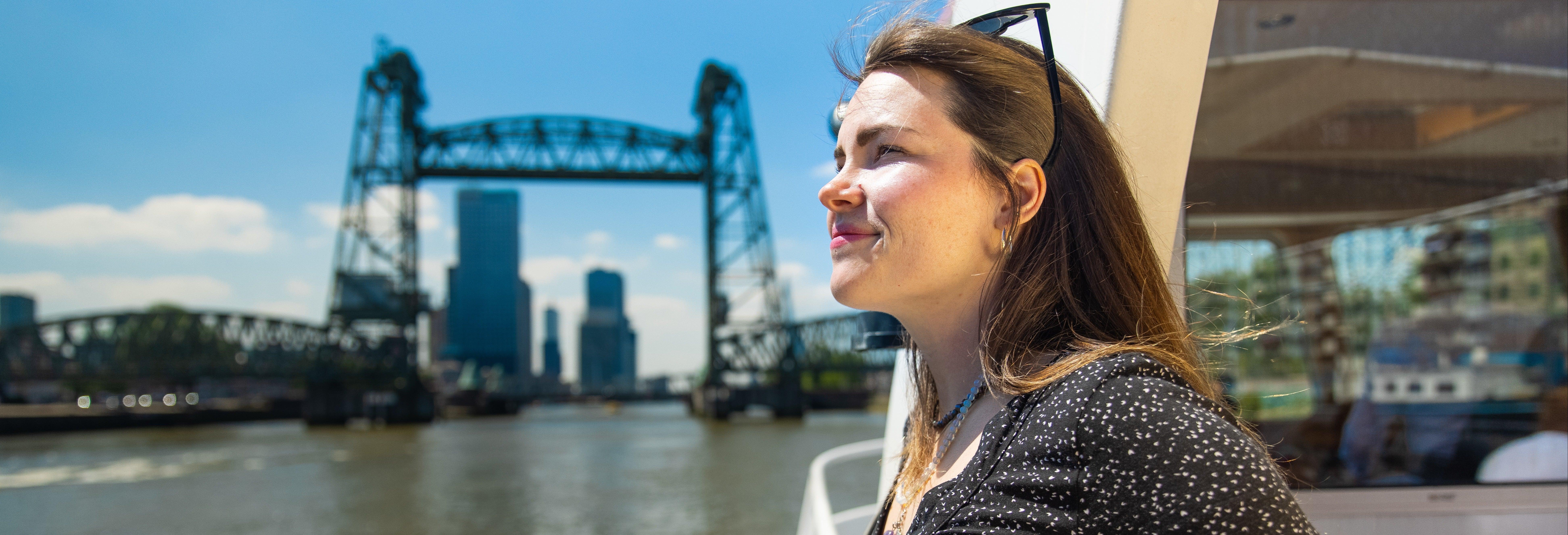 Passeio de barco por Roterdã