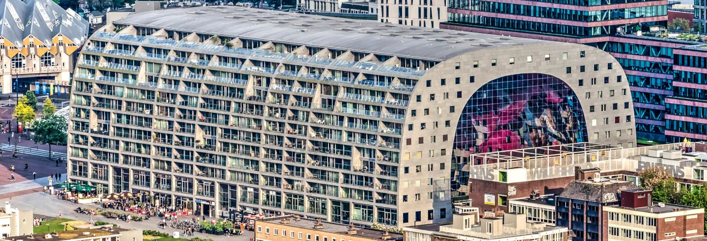 Markthal & Cube Houses Tour