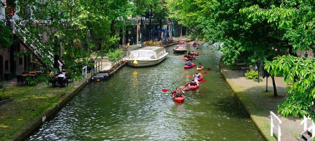 Tour en kayak por los canales de Utrecht