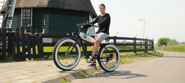 Alquiler de bicicleta eléctrica en Volendam