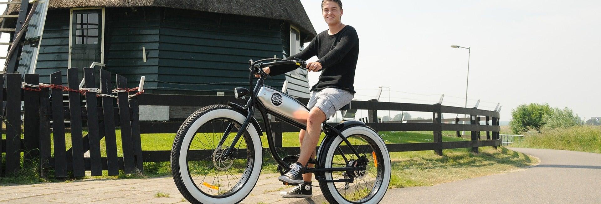 Aluguel de bicicleta elétrica em Volendam