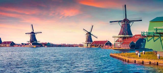 Paseo en barco por Zaanse Schans