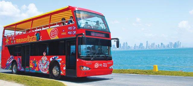 Autobús turístico de Ciudad de Panamá